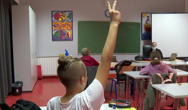 Škola, Dobrinj