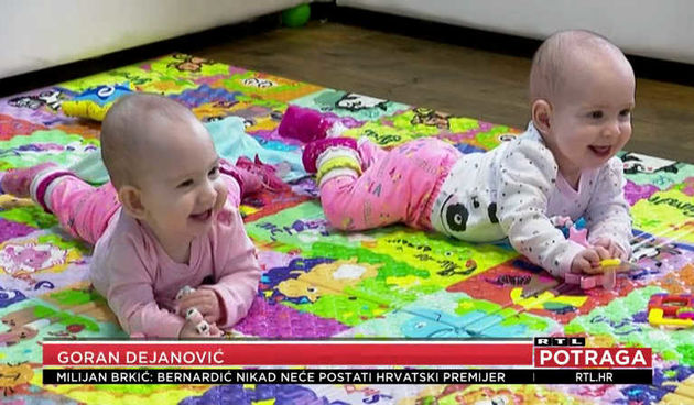 Najpoznatije razdvojene sijamske blizanke Kristina i Valentina proslavile prvi rođendan (thumbnail)