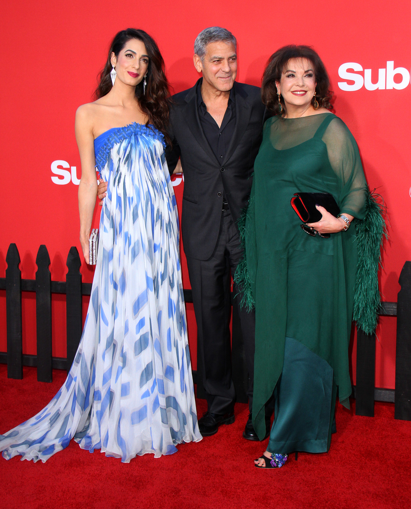 Amal Clooney, Baria Alamuddin, George Clooney