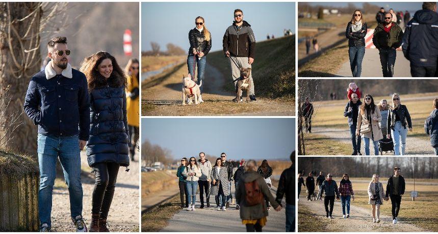 KLIKOM PO MARINI Sunčana nedjelja izmamila građane u šetnju na prelošku Marinu