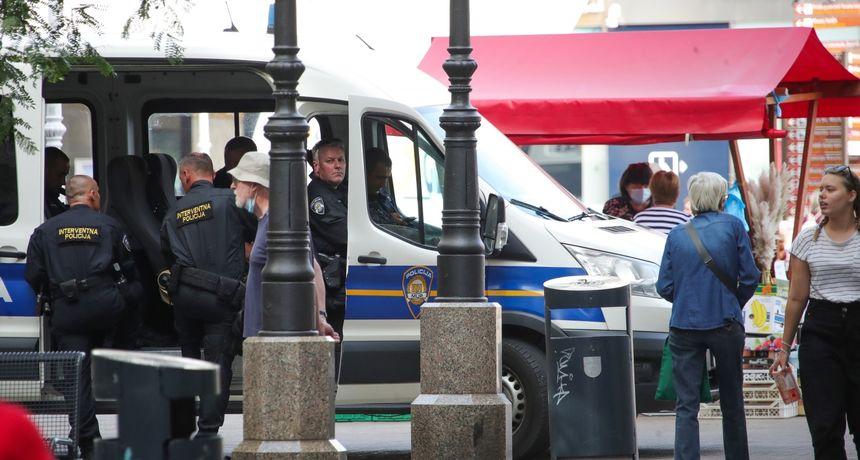 Kaos u zagrebačkoj Tkalči - letjele stolice, krigle i boce: Potukli se BBB-ovci i Englezi. Intervenirala i policija
