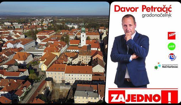 Kandidat za gradonačelnika Davor Petračić vidio kombi koji skida oporbene plakate - policija ih