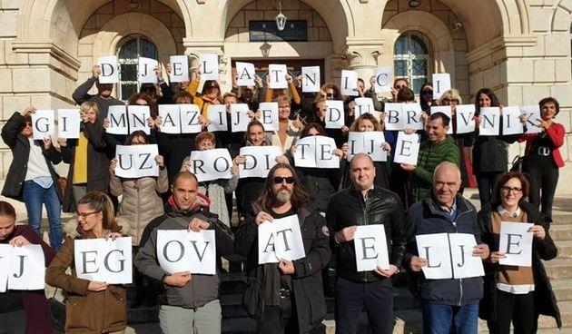 Gimnazija u Dubrovniku podržala je roditelje njegovatelje: 'Nemaju pravo na godišnji ni bolovanje'