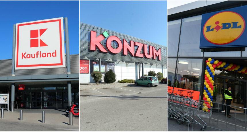 Evo kako rade trgovine i trgovački centri u Osijeku za Dan pobjede i domovinske zahvalnosti