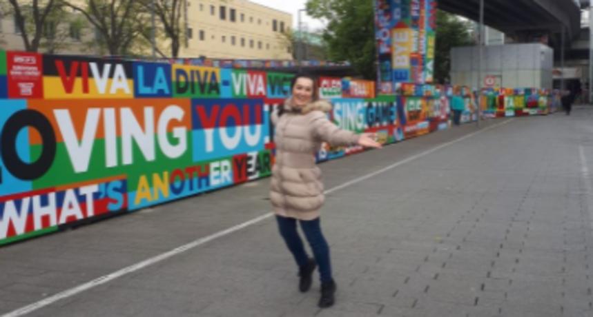 Gdje je Eurosong, tu je i Marijana iz 'Ljubav je na selu': 'Pozdravi iz Rotterdama!'