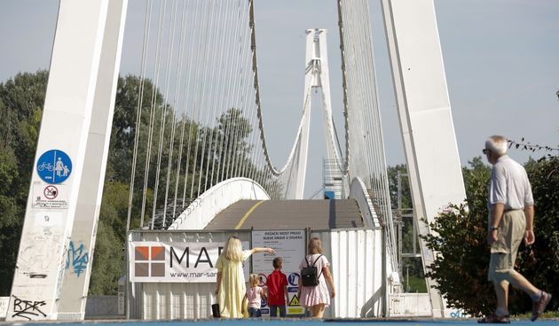 Rekonstrukcija pješačkog mosta u Osijeku