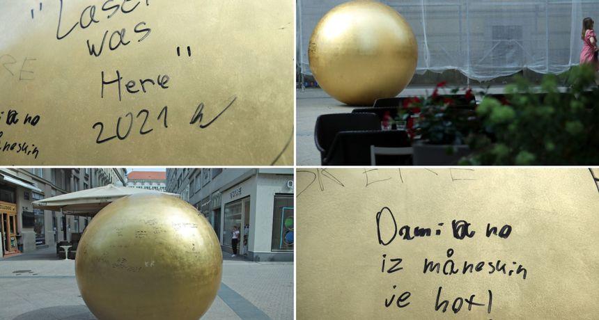 Po umjetničkom djelu u Zagrebu pišu o Eurosongu, javljaju da su one bile tu, objašnjavaju izgled muškog spolovila...