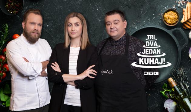Prijavite se u 9. sezonu kulinarskog showa 'Tri, dva, jedan - kuhaj!'