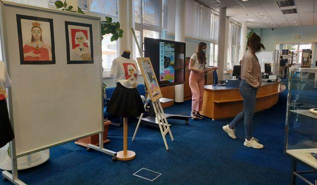 GKZD: Skupna izložba učenika dizajna tekstila