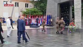 Državni vrh na svečanoj proslavi Oluje u Kninu  (thumbnail)