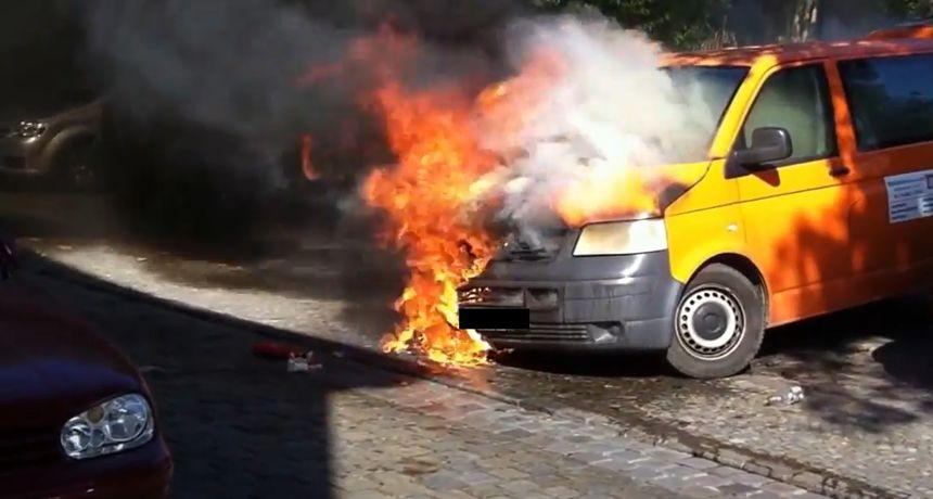 Strani državljanin temeljito spalio teretno vozilo u mjestu kod Zadra, požar se proširio i na masline