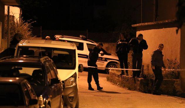 policija, očevid u Ulici Gašpin, Solin