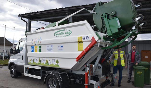 Europskim sredstvima do novog vozila tvrtke Tehnix - ozaljsko područje u odvojenom prikupljanju otpada već sada dosegnulo nacionalni plan od 60 posto