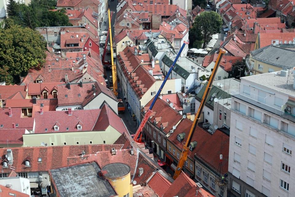 Zagreb: Počela sanacija Radićeve ulice od posljedica potresa