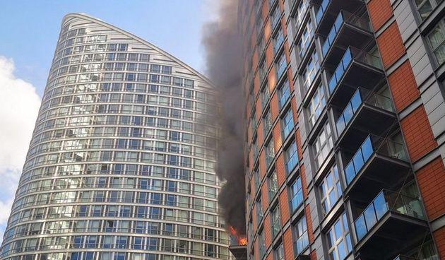 Požar London