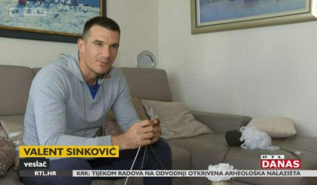 Pletenje je dobro za mozak, a to znaju i sportaši - Sinković otkrio da voli plesti (thumbnail)
