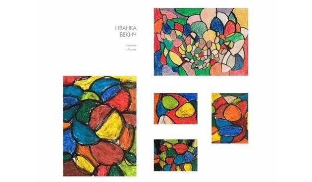 Ivanka Bekić, korisnica Centra Ozalj s dijagnozom autizma, ruši granice - njezini likovni radovi izloženi u Muzeju suvremene umjetnosti u Sankt Peterburgu