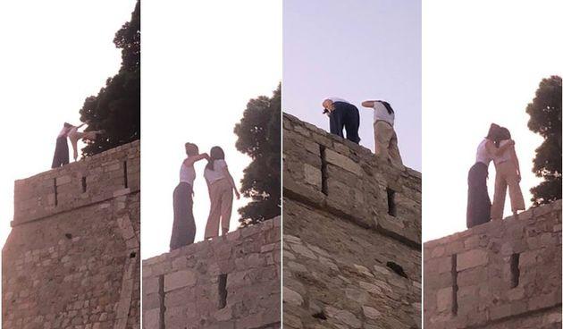 Opasan trend vlada društvenim mrežama: Popele se na zidina i riskirale život za dobru fotografiju