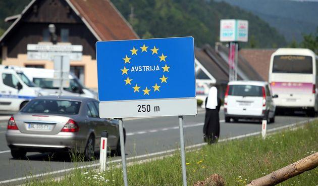 Austrija, granica