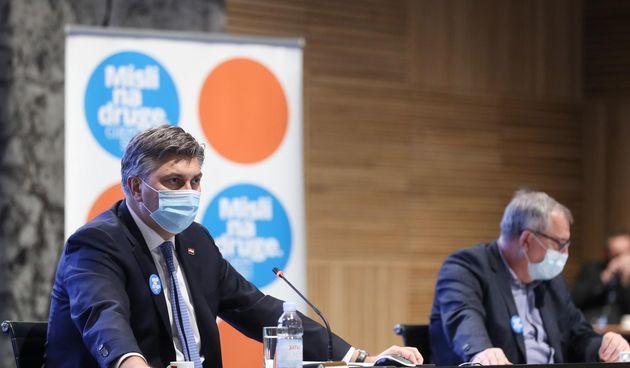 VIDEO Plenković naredio ubrzavanje cijepljenja, ali nešto ne štima: Dvije doze primilo je tek 5 posto građana