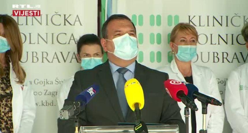 Beroš: Uklanjaju se vojni šatori ispred KB Dubrava