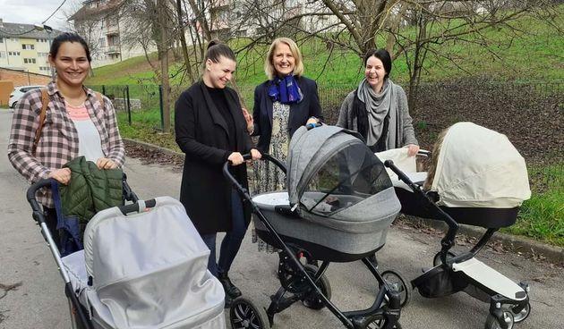 Grad Ozalj pozitivan primjer provođenja demografske politike, gradonačelnica Lipšinić: Jako smo radosni