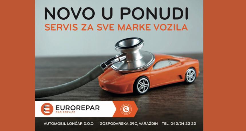 Prvi MULTIBRAND EUROREPAR CAR SERVICE u Hrvatskoj - Automobil Lončar u Varaždinu!