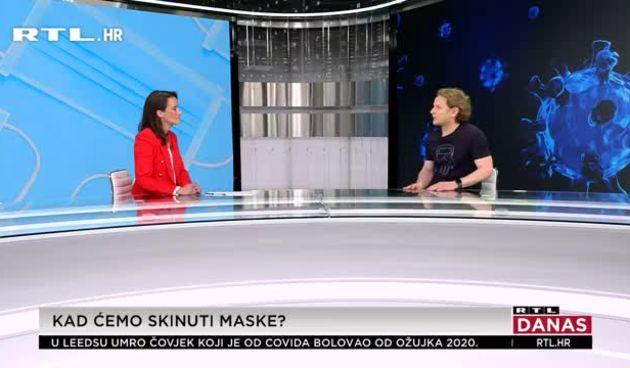 Znanstvenik Ivan Đikić za RTL Danas: 'Sada je najbolje vrijeme za cijepljenje. Hrvatska je na 15. mjestu zbog loših mjera' (thumbnail)