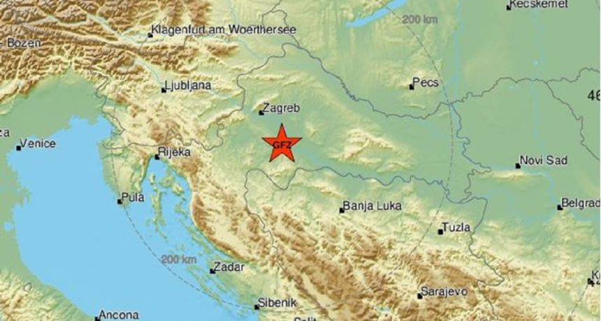 Osjetila se tri nova potresa kod Siska, prvi je bio magnitude 3.9! EMSC: 'Do sada 22 potresa u zadnjih 37 sati'