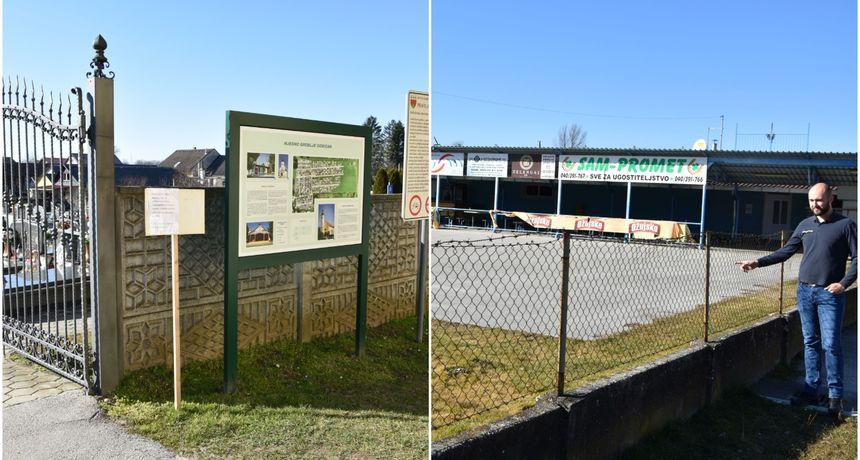 GORIČAN Nove ograde na groblju i pred objektom NK Trnava