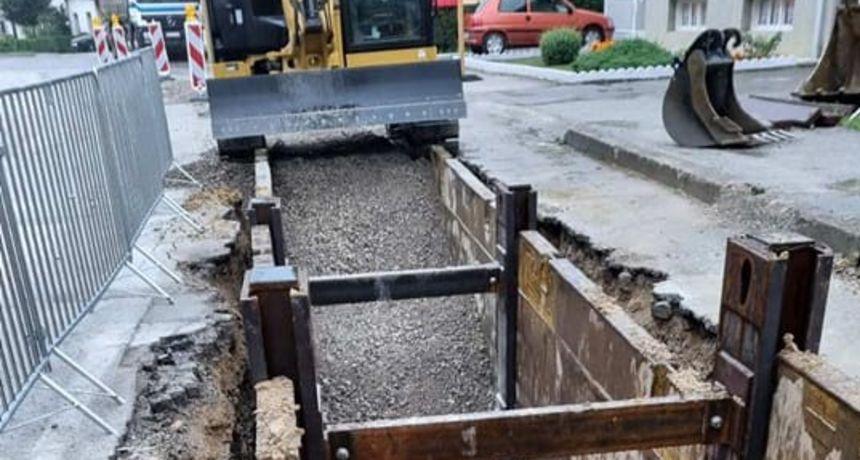 Počeli pripremni radovi na aglomeraciji, direktor dugoreškog Komunalnog: Ispod površine očekujem iznenađenja i probleme