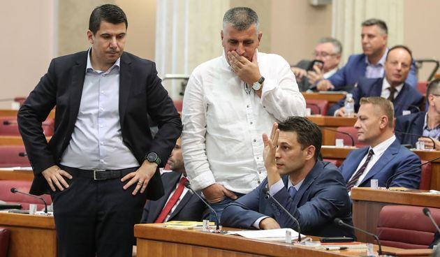 Nikola Grmoja, Miro Bulj, Božo Petrov