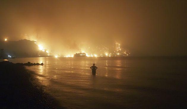 Požar u Grčkoj