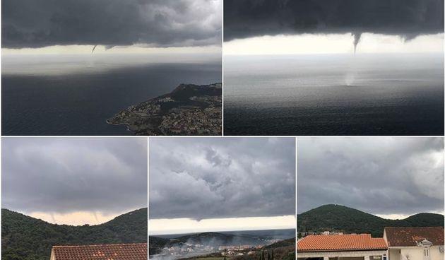 Tmurno nebo iznad Dubrovnika