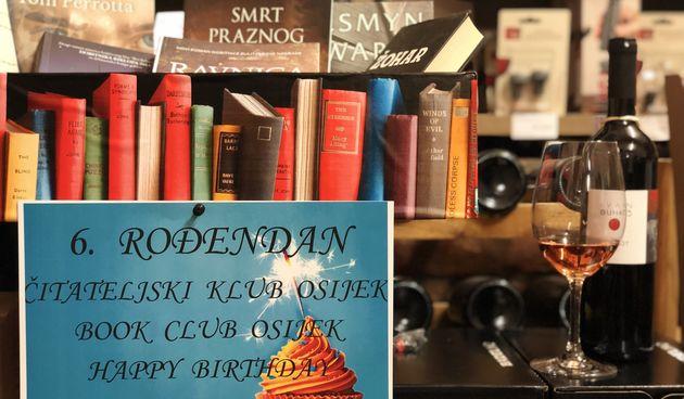 Osječki čitateljski klub proslavio 6. rođendan
