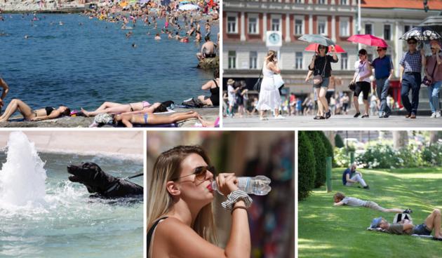 ljeto, vrućina, more, prognoza
