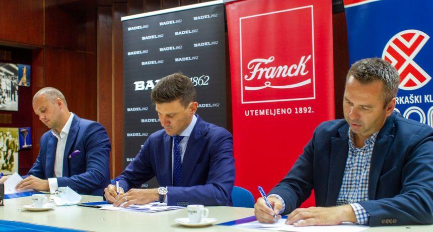 Cibona je svečano potpisala sponzorski ugovori s Franckom, Badelom 1862 i Krašem