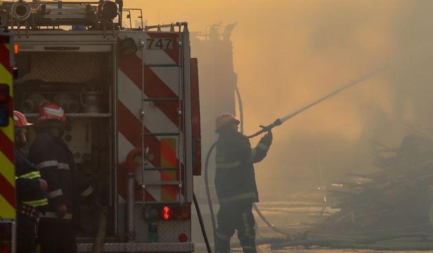 Veliki požar u Valpovu