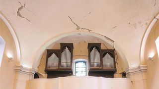 Crkva sv. Franje Ksaverskog u Zagrebu znatno oštećena u potresu