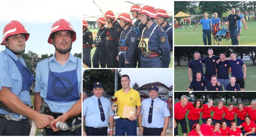 FOTO Međimurski vatrogasci u Sivici: Čast svim natjecateljima, no Palinovec je samo jedan