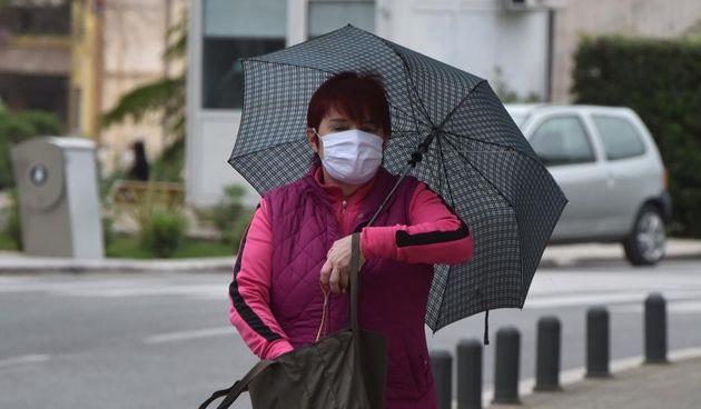 Koronavirus, maska