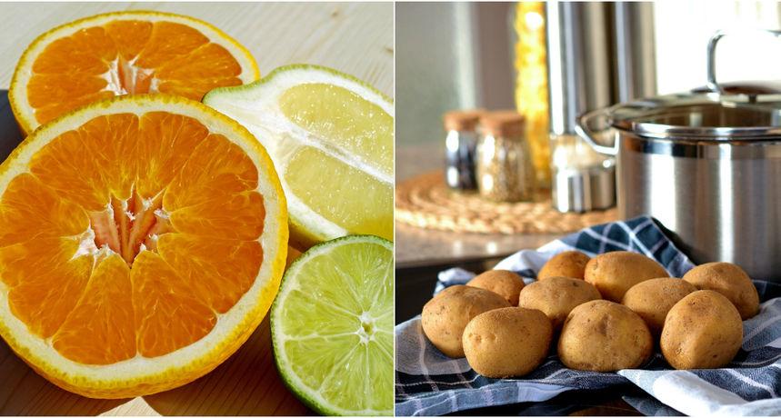 Šest svakodnevnih namirnica koje imaju više vitamina C od naranče