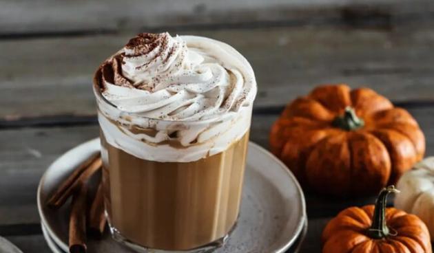Pumpkin spice latte kava