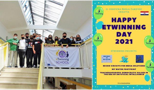 II. OŠ ČAKOVEC Uz Dan eTwinninga i Dan Europe obilježeno deset godina od uključivanja škole u eTwinning zajednicu