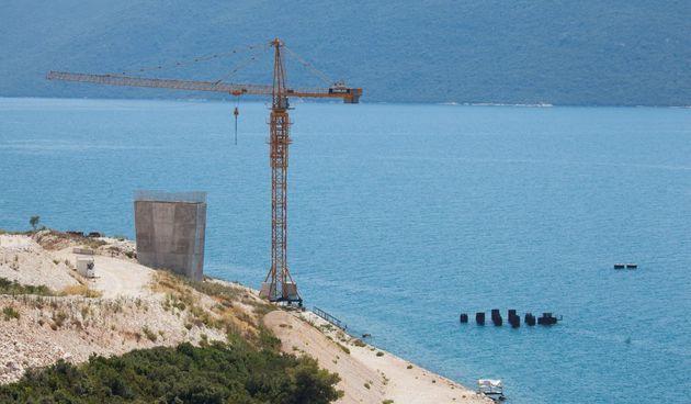 Faze gradnje Pelješkog mosta
