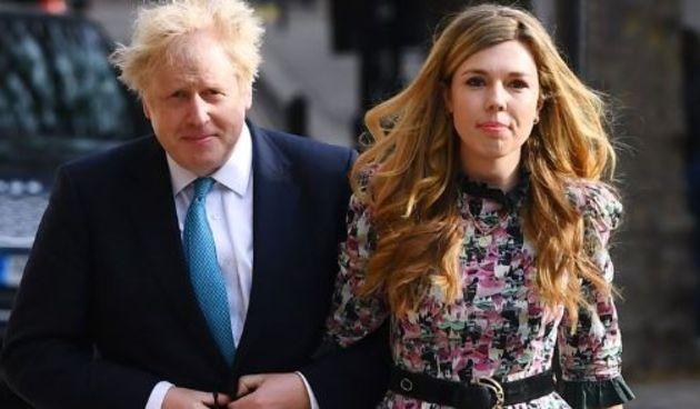 Boris Johnson sa suprugom