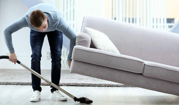 Kućanski poslovi, usisavanje