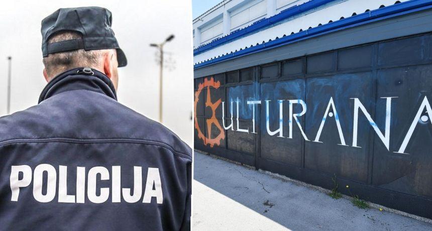Policija potvrdila da ih je ispred Kulturane dočekao Nino Čengić, prijavio je kršenje epidemioloških mjera