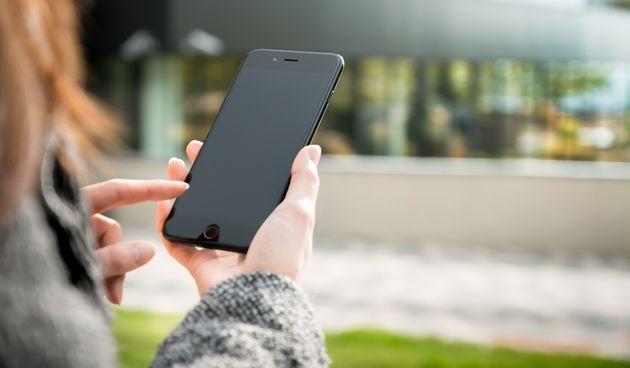 smartphone, mobitel ilustracija