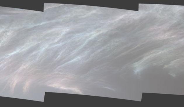 oblaci na marsu